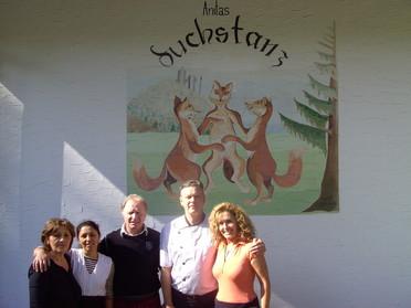 Anitas Fuchstanz, Lokal im Taunus, Team Anitas Fuchstanz Gastro